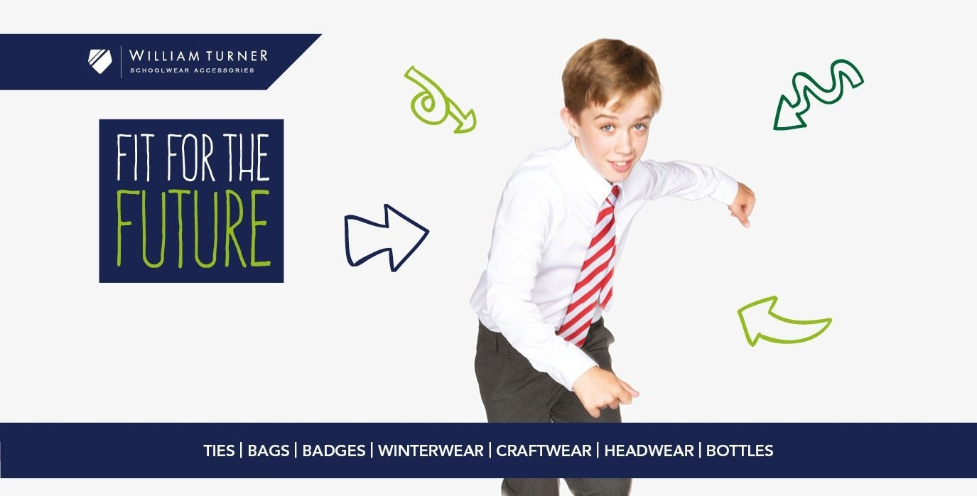 Schoolwear Advertising Creative for William Turner