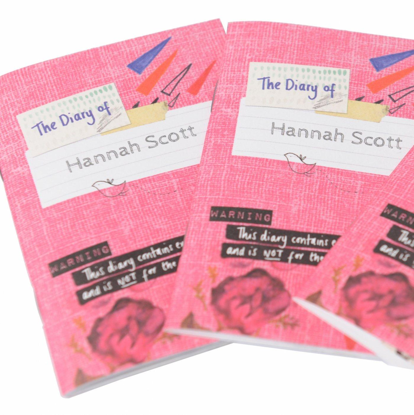 MMHSC Diary of Hannah Scott cover