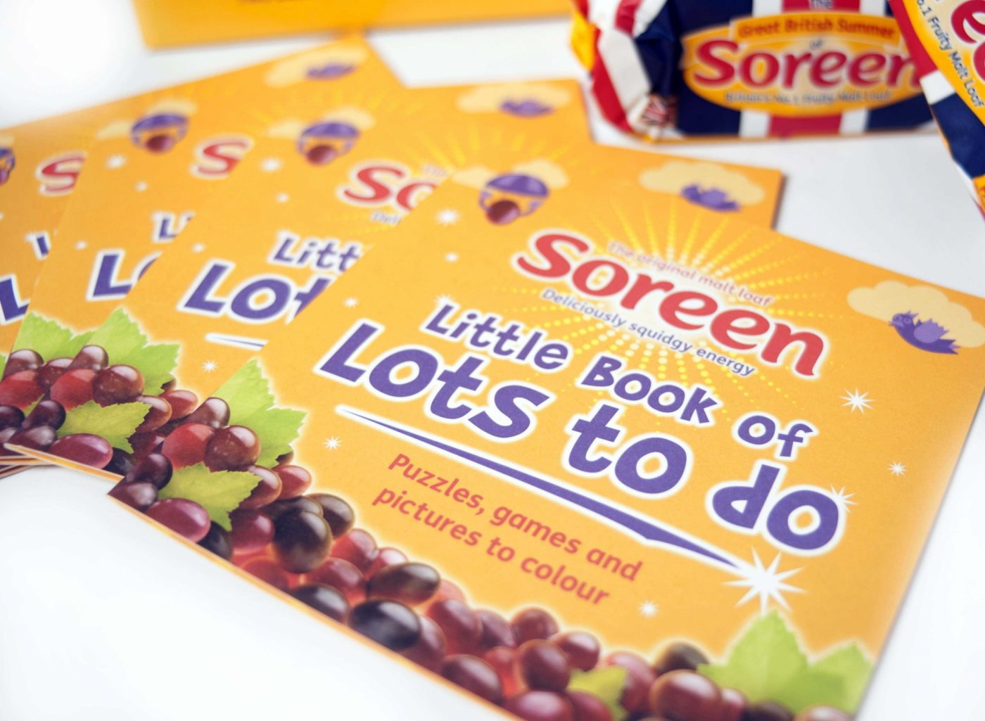 Soreen little book of lots to do