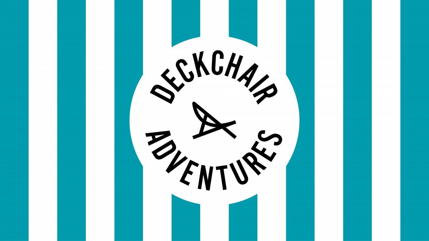 Deckchair Adventures logo design by Sunny Thinking