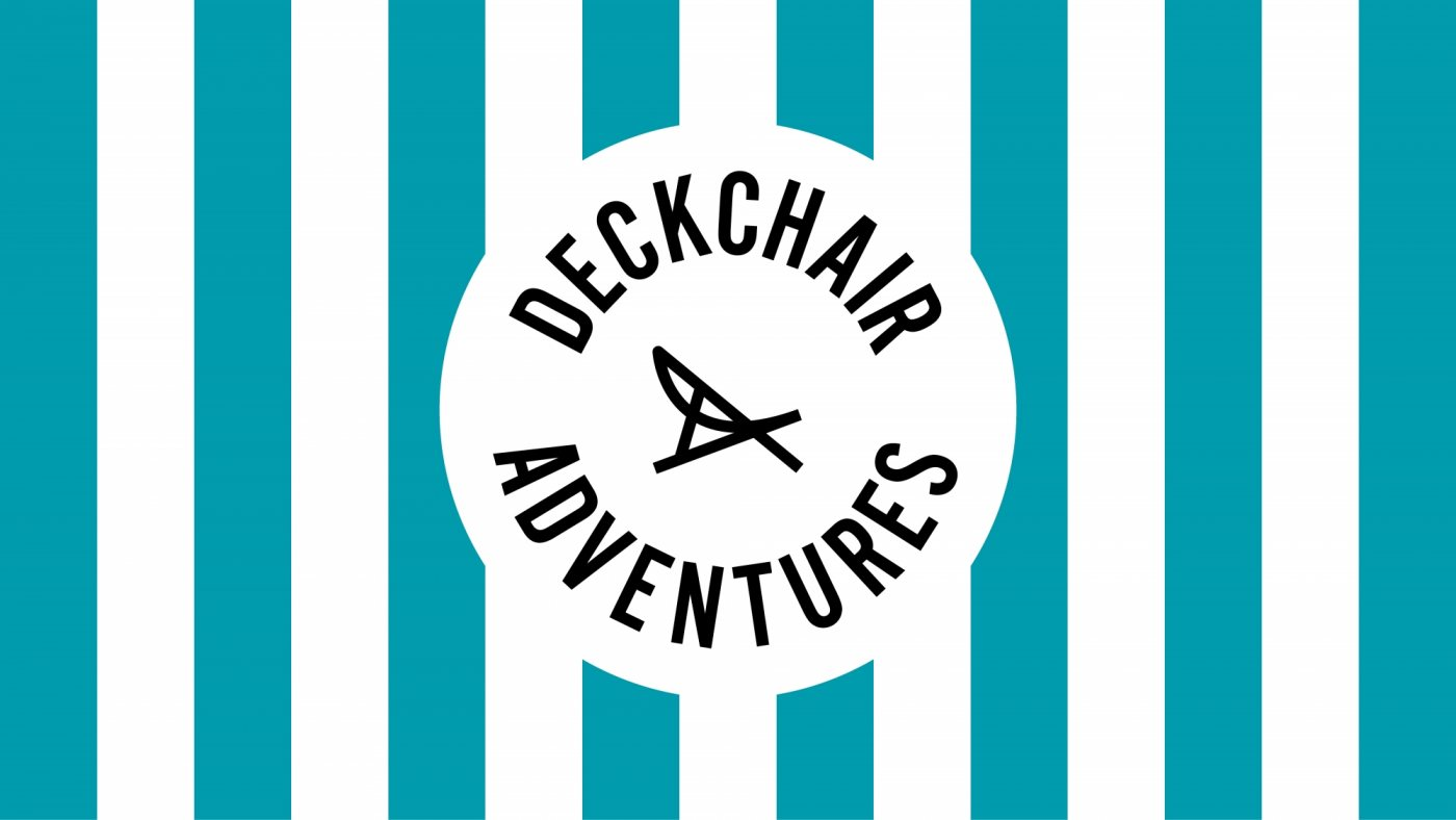 Deckchair Adventures logo design by Sunny Thinking