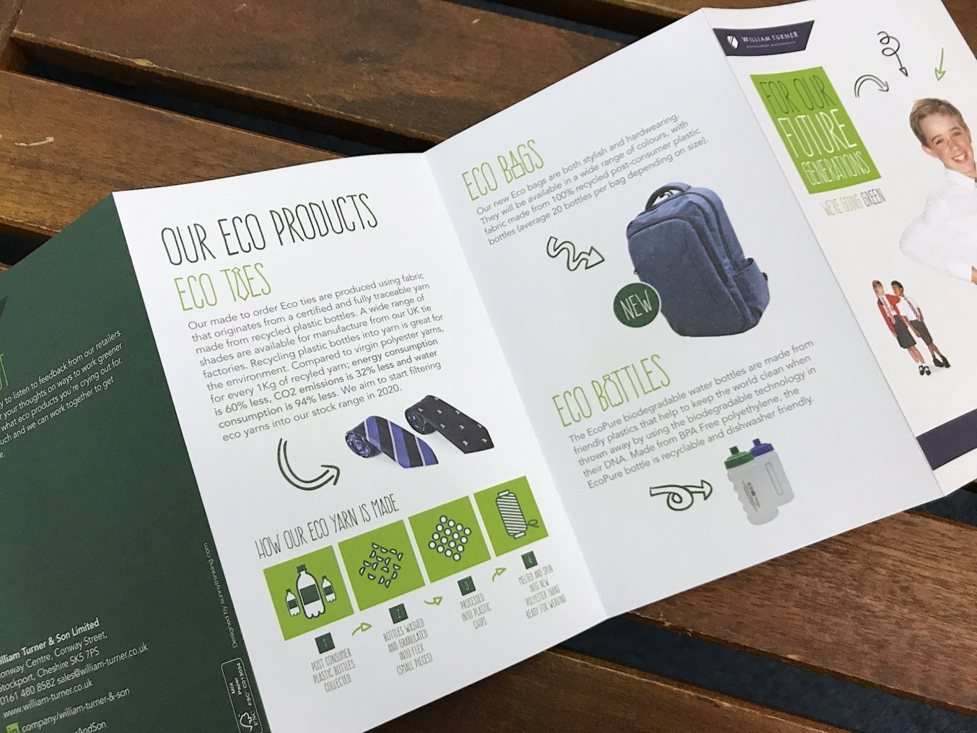 Eco products by William Turner