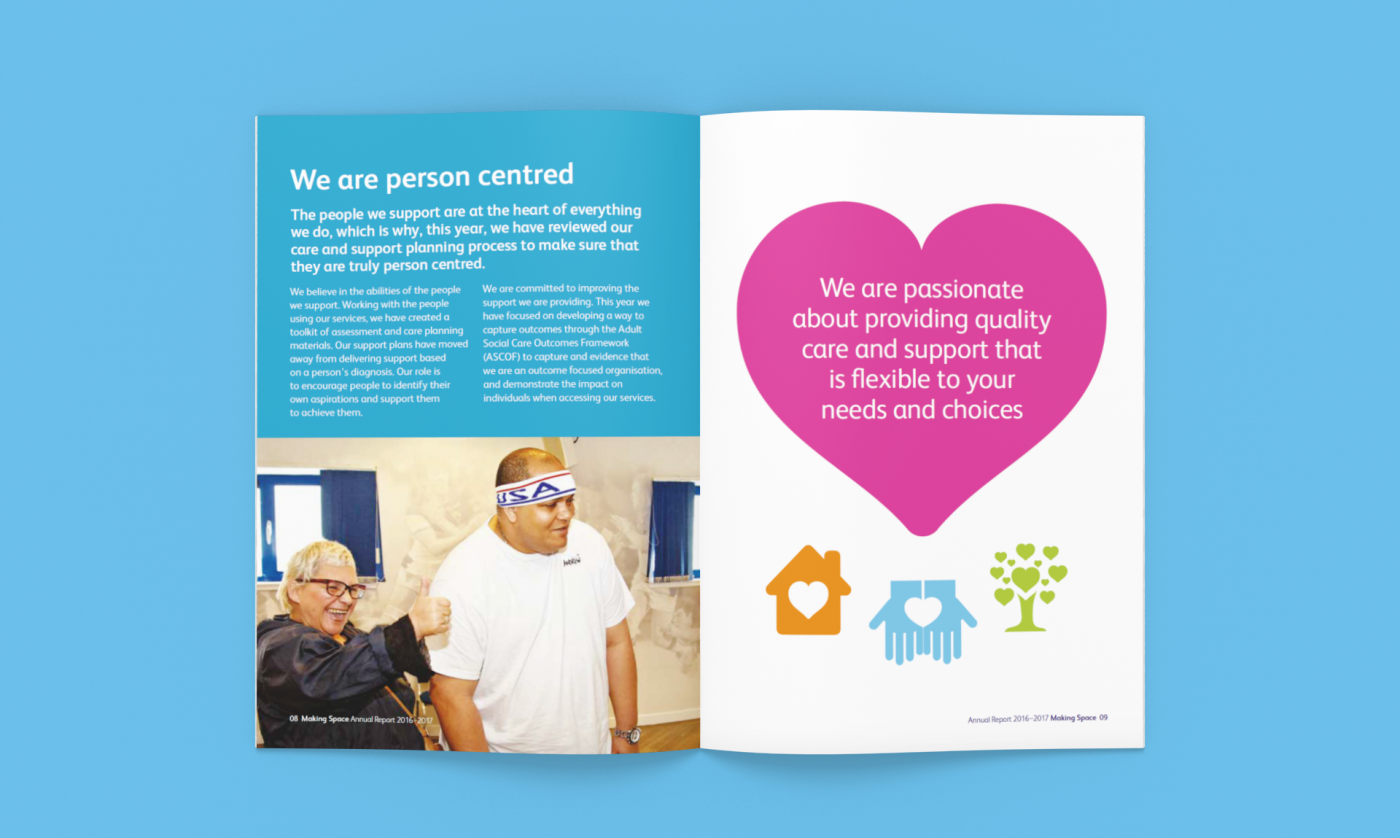Health and Social Care Report Designs