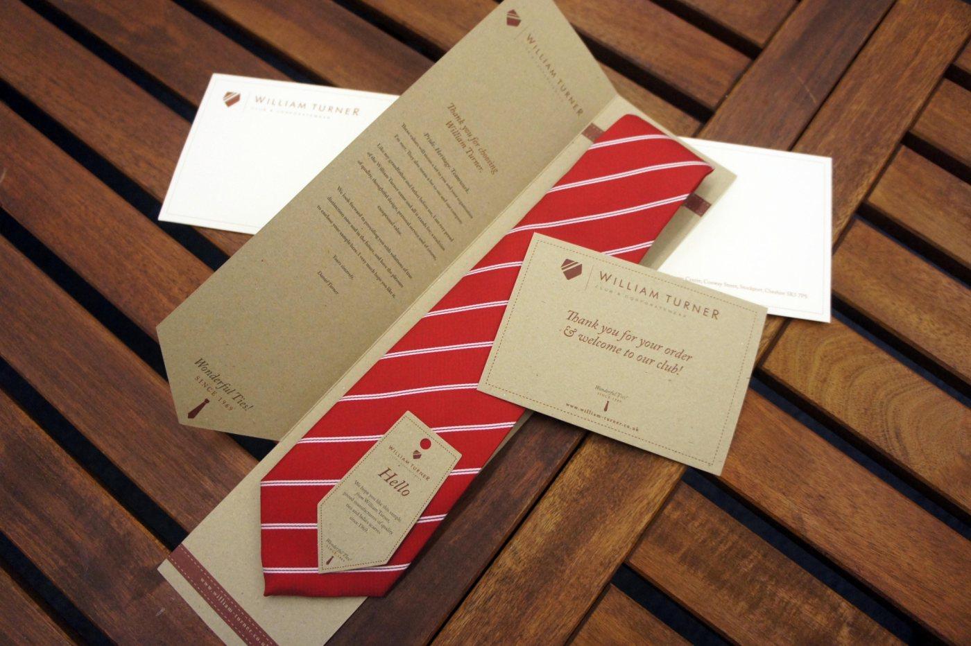 Great tie packaging designs