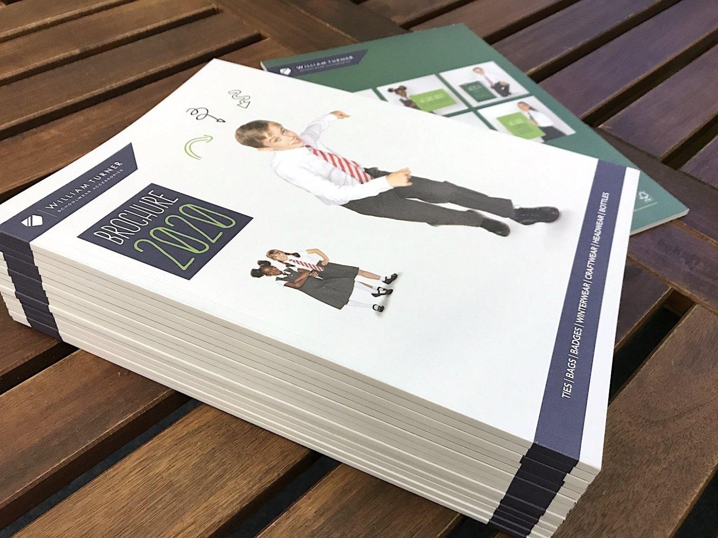 Schoolwear brochure design