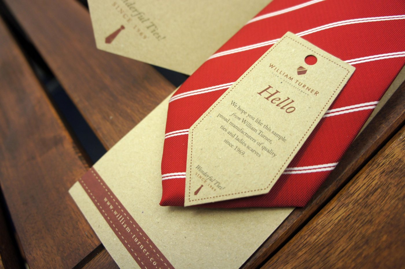 Sunnythinking tie packaging