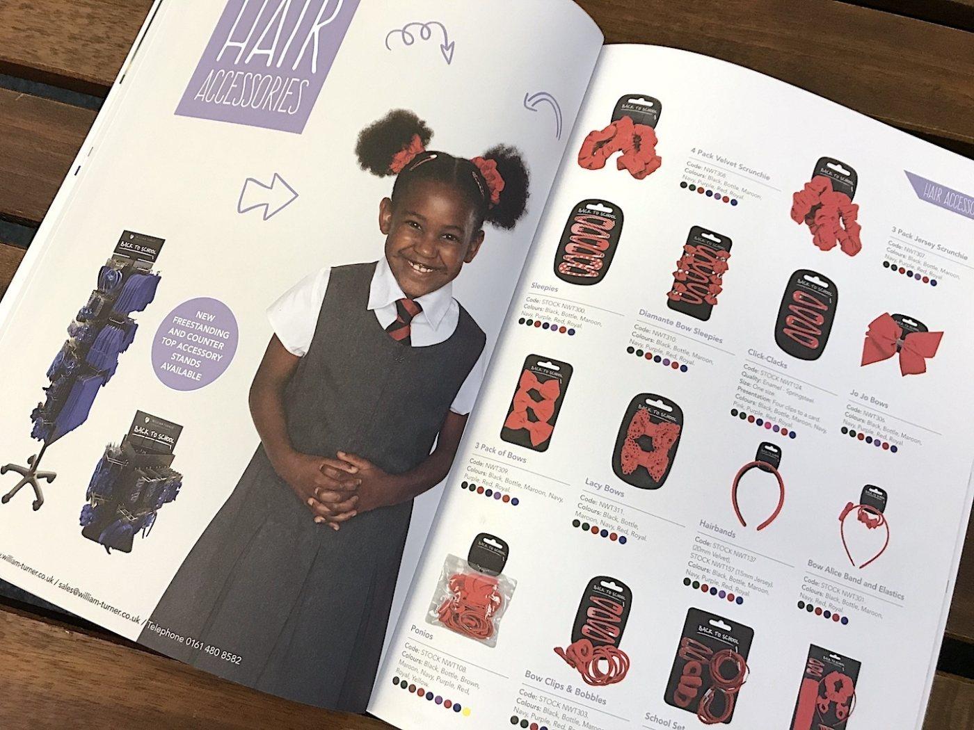 William Turner brochure design