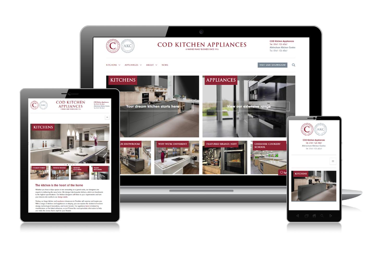 COD Kitchen Appliances website