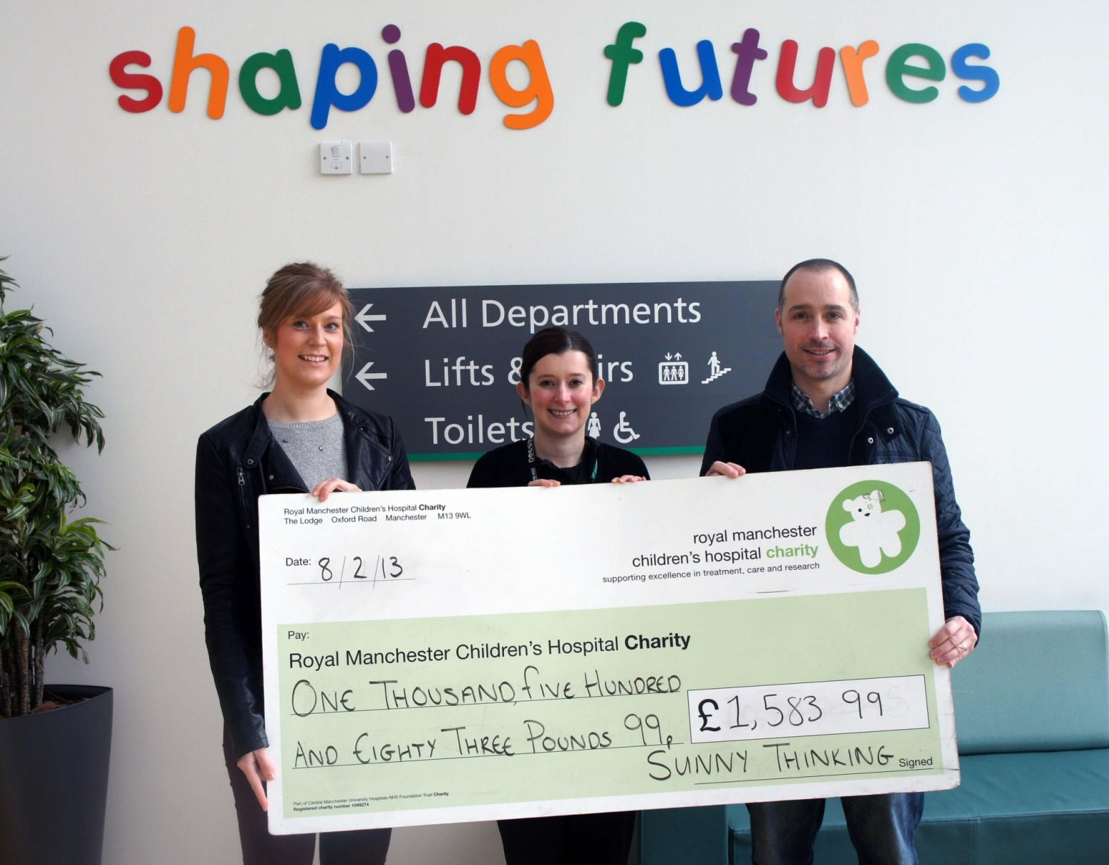 Sunnythinking for rmch charity