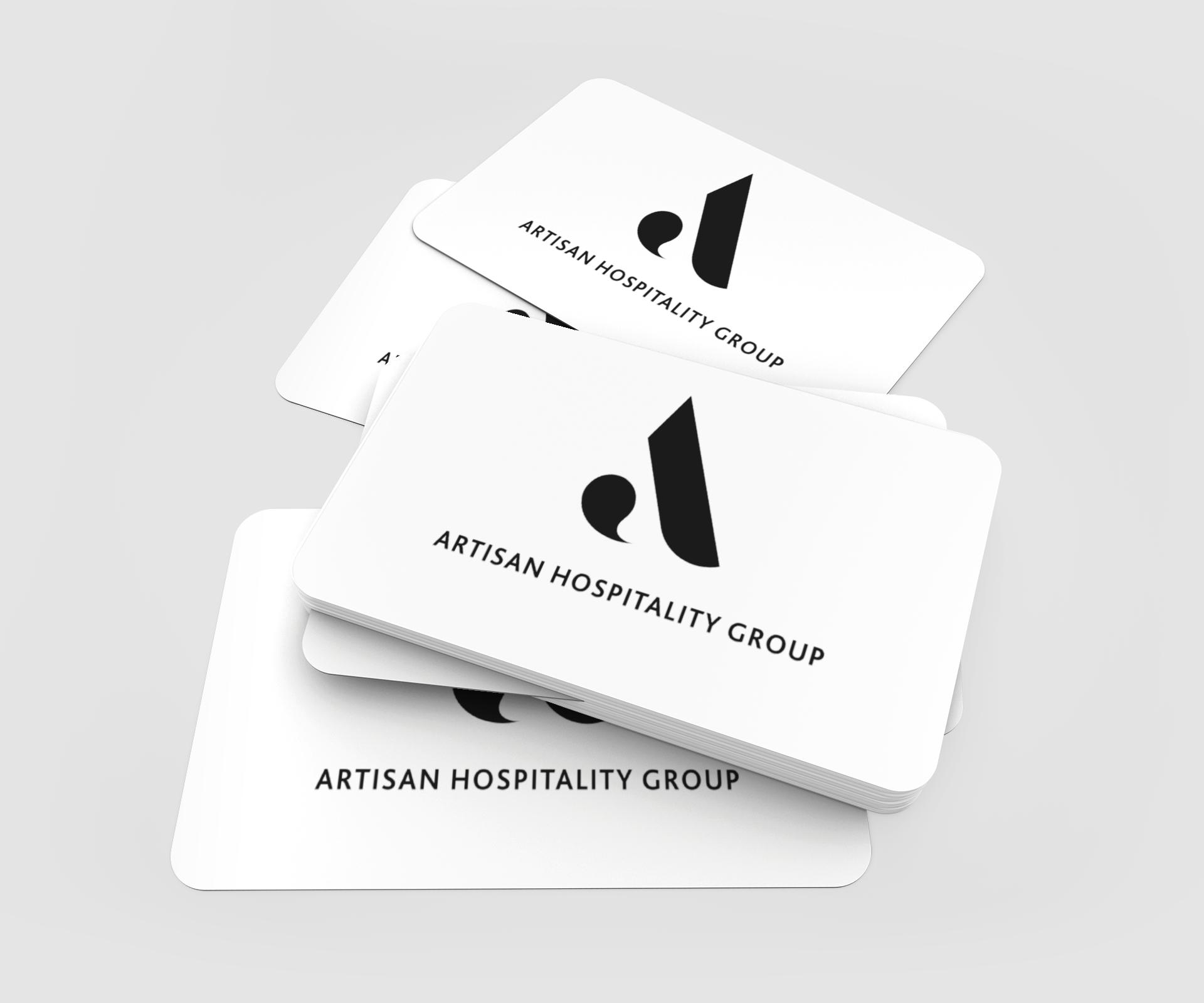 Artisan Hospitality Group branding