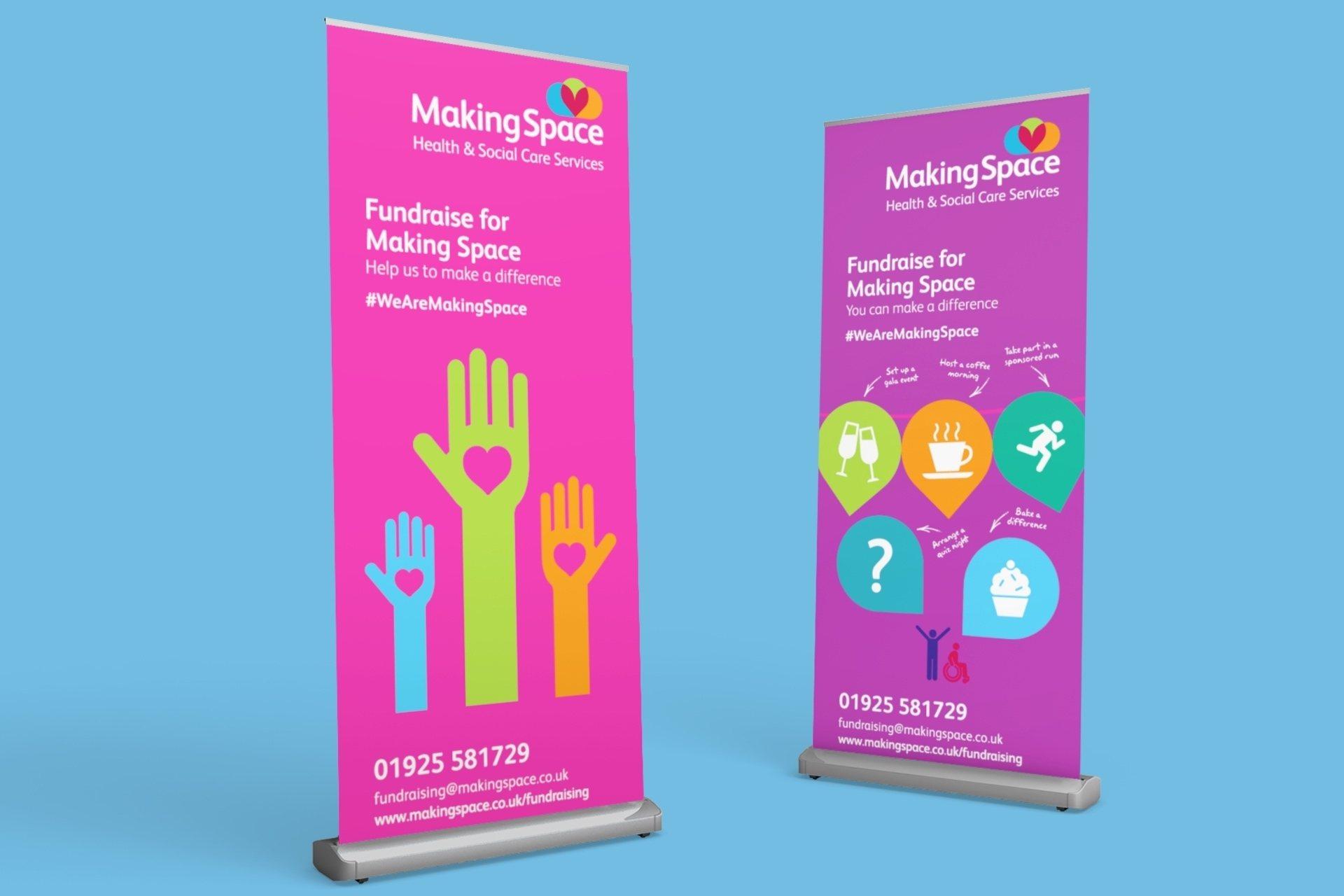 Fundraising Banner Design