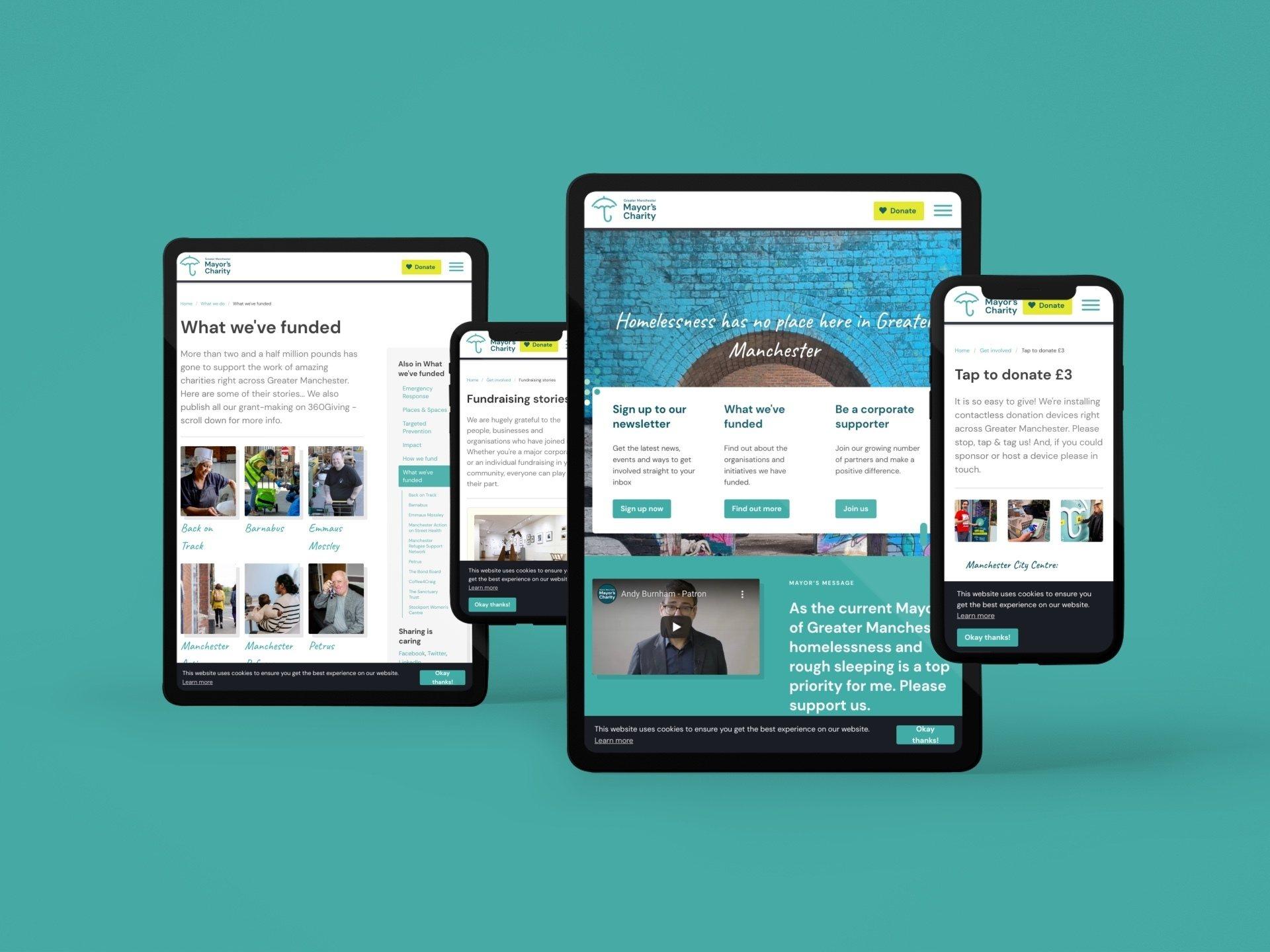 Greatermanchestermayor charitywebsite