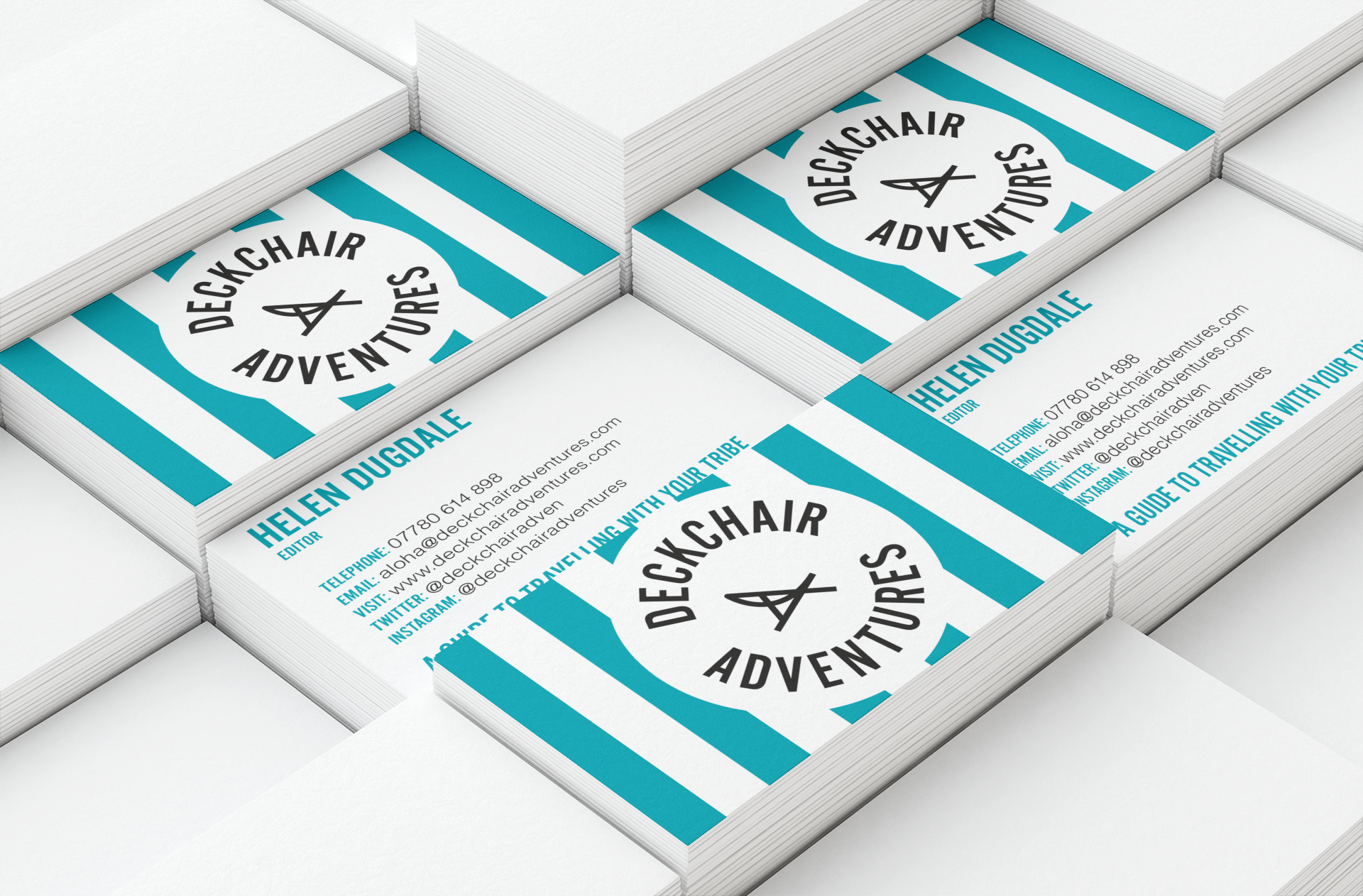 Travel company branding