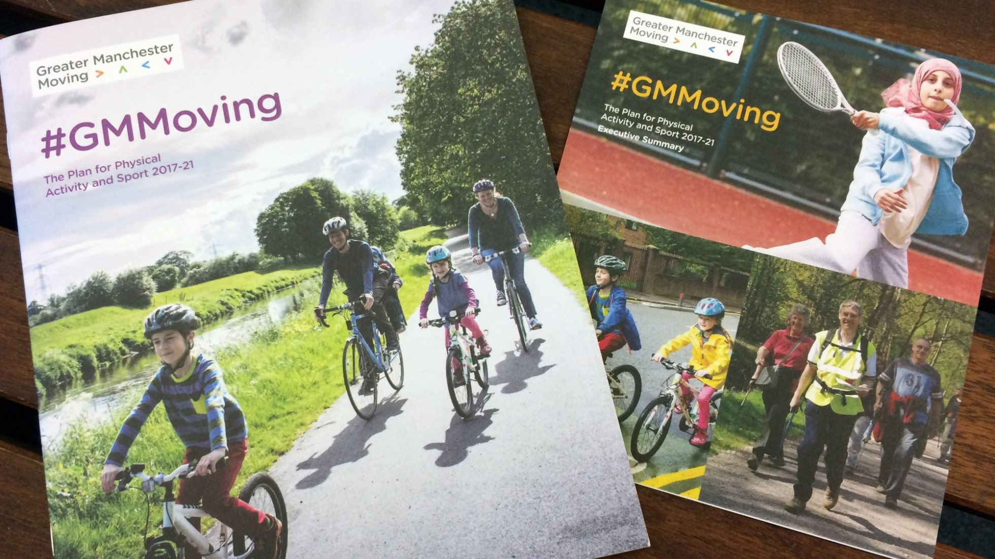 Increasing participation in physical activity and sport with Greater Manchester Moving