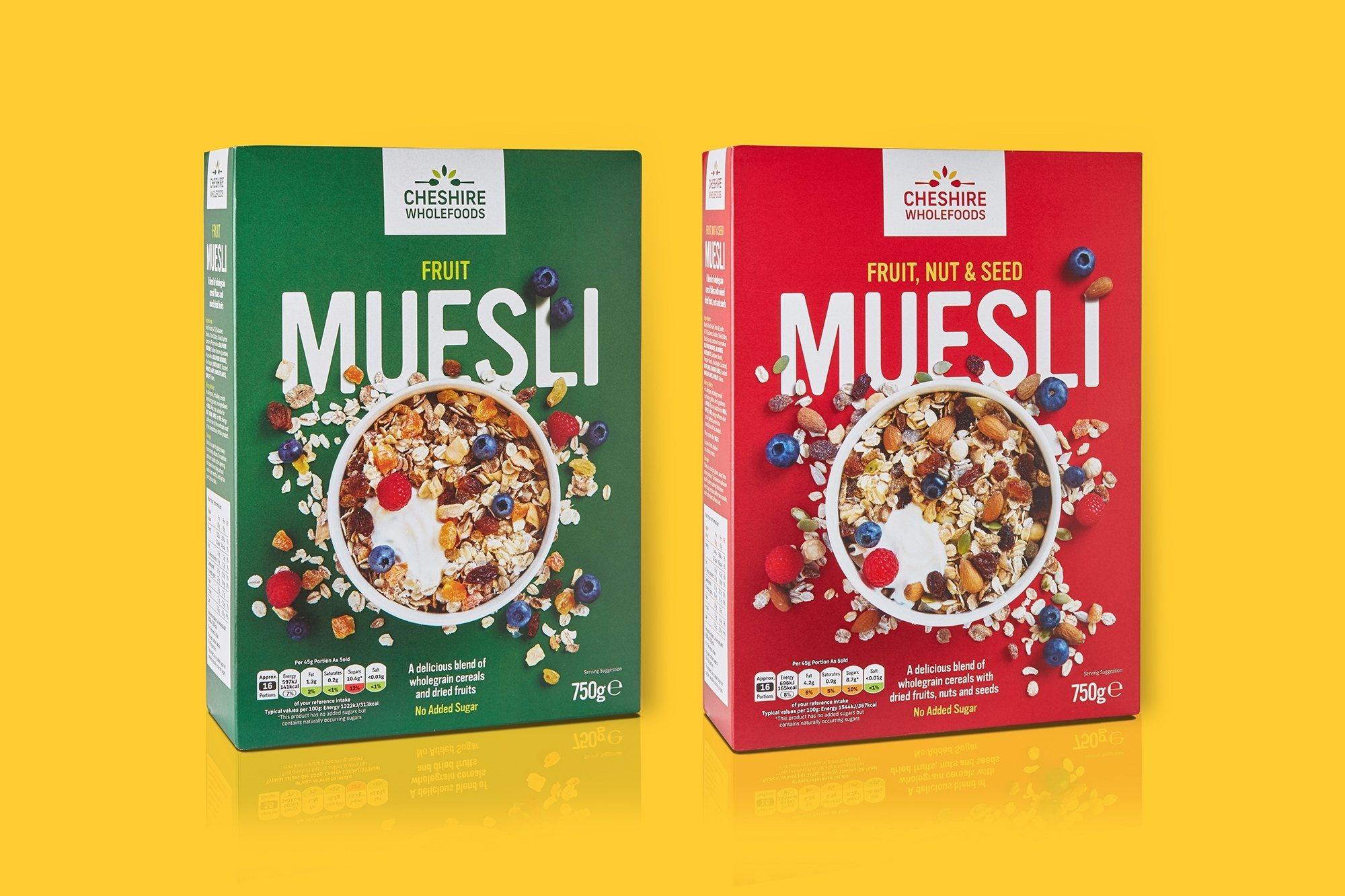 Design For Muesli Packaging