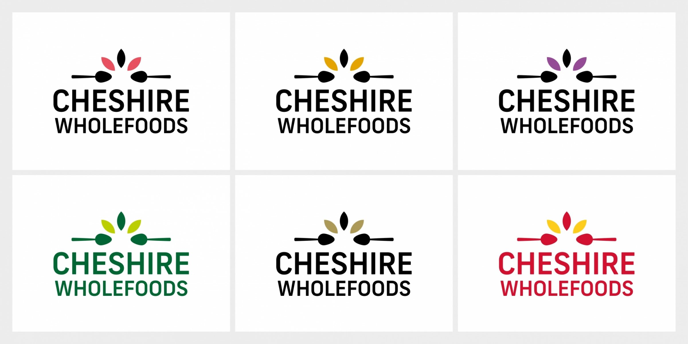 Cheshire Wholefoods Branding And Logo