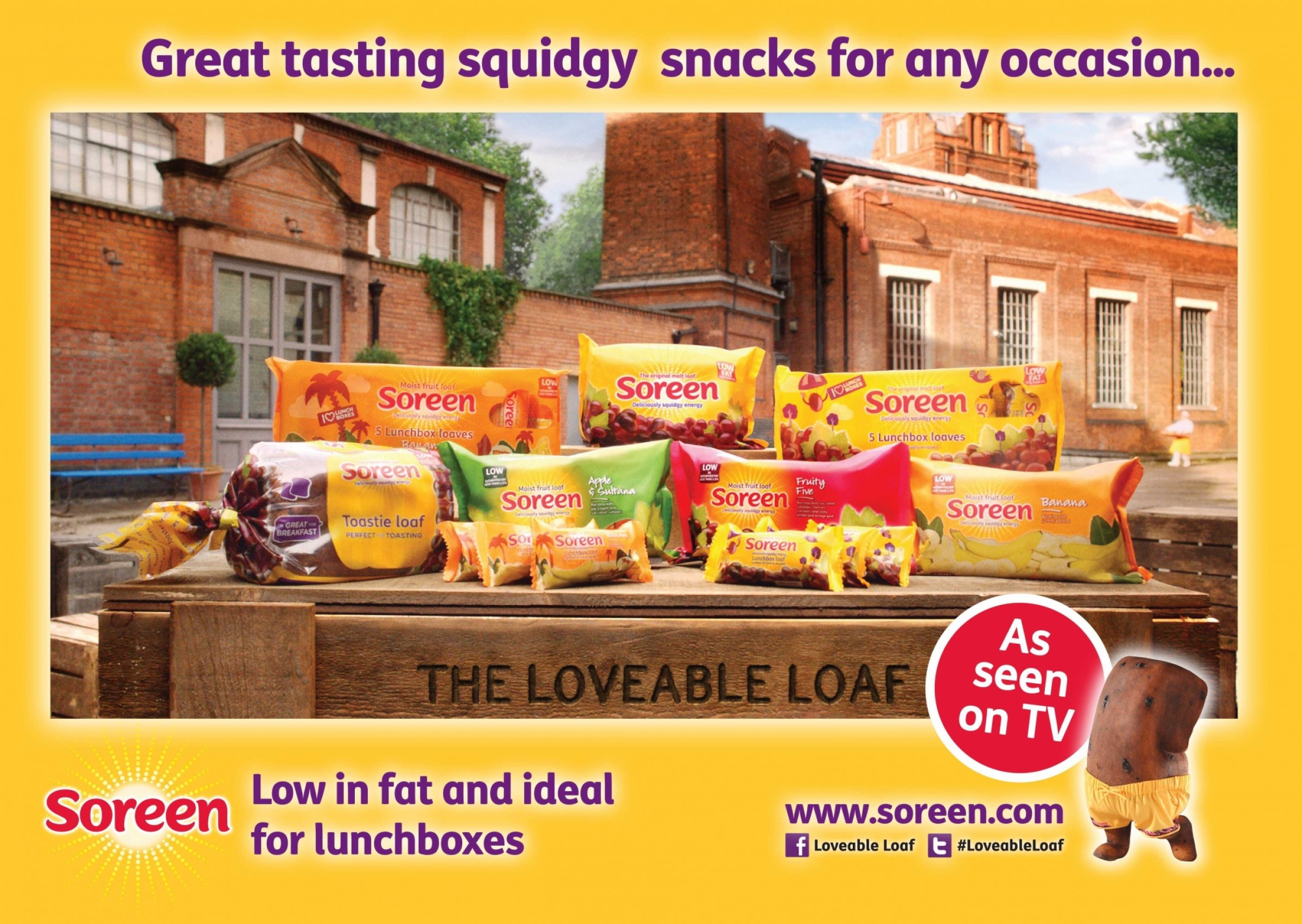 Soreen TV advert
