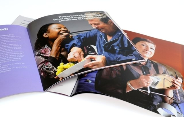 NHS over 50s sexual health brochure