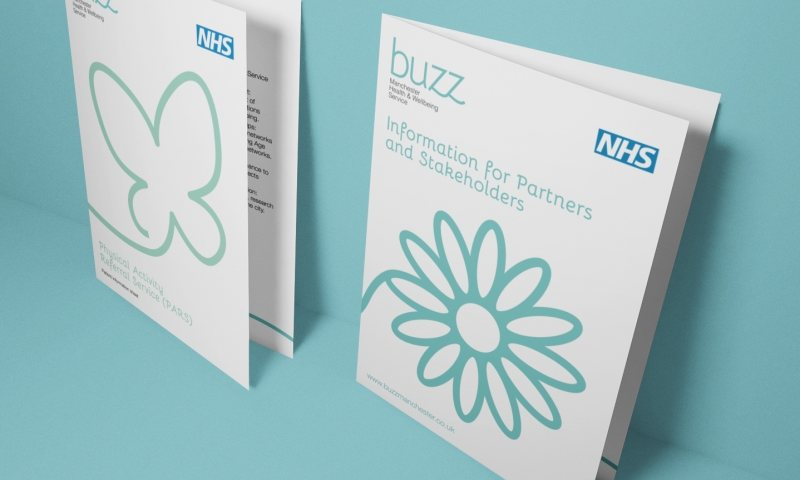 Creating a buzz with health and wellbeing branding