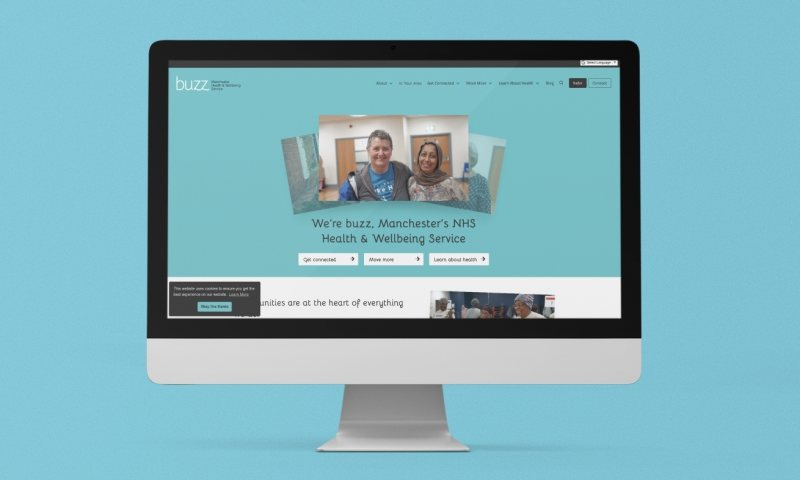New buzz website supports health and wellbeing