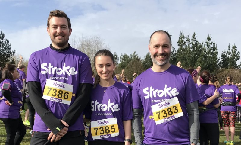 Big 10 Charity Challenge for Stroke Association