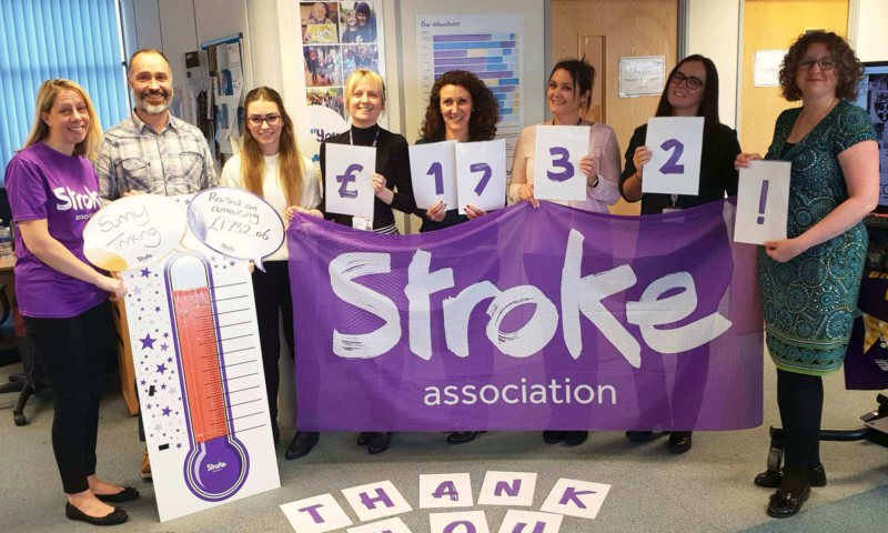 Sunny Thinking raise over £1,700.00 for the Stroke Association