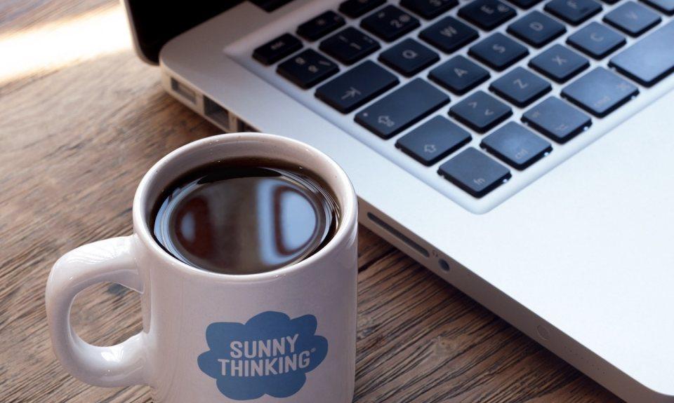 Sunny Thinking Mug
